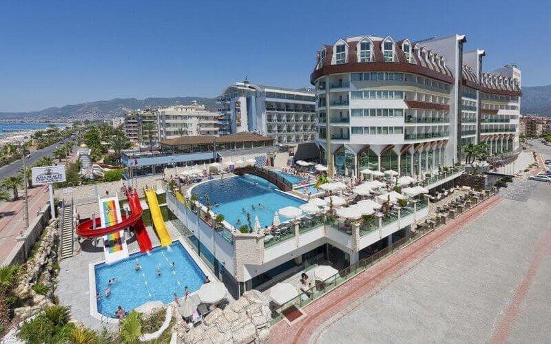 هتل Asia Beach Resort and Spa Hotel Alanya