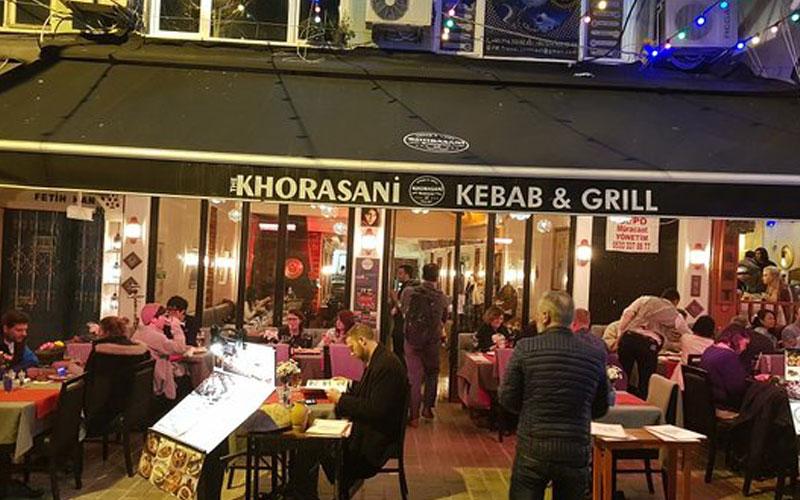 رستوران خراسانی استانبول