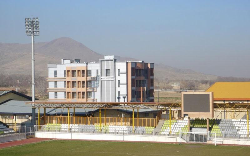 هتل آپارتمان ورزش همدان