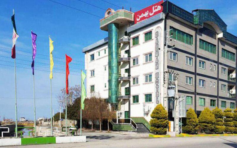 هتل بهمن کردکوی گلستان
