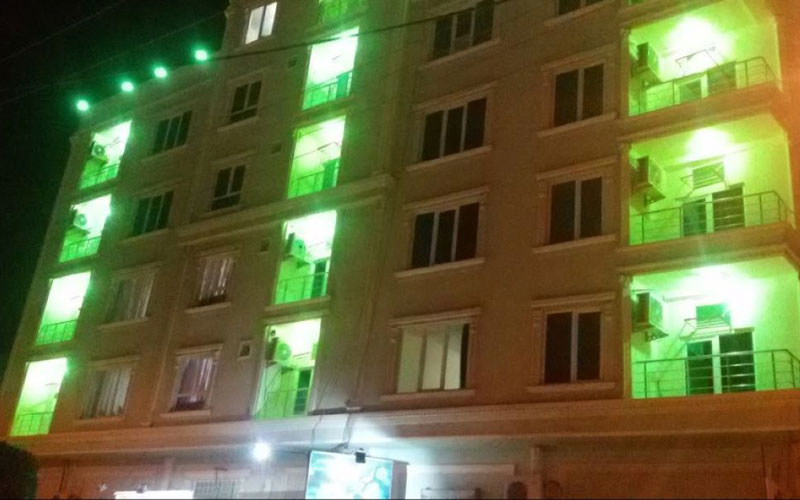 هتل آپارتمان خانه سبز قشم