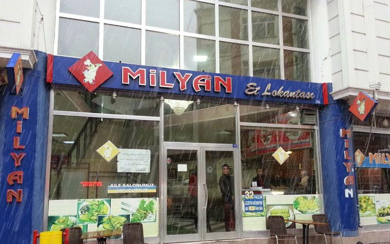 رستوران میلیان ات لوکانتاسی وان