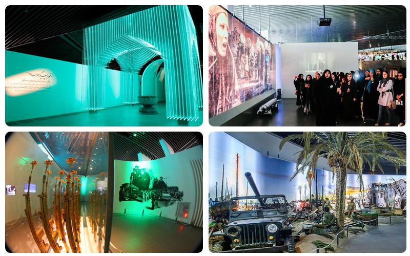 موزه انقلاب اسلامی   دفاع مقدس تهران