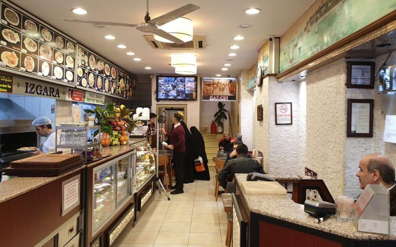 رستوران صدف اسکندر استانبول