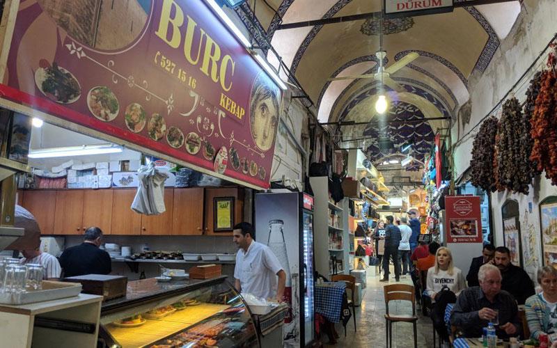 رستوران گازیانتپ بورچ استانبول