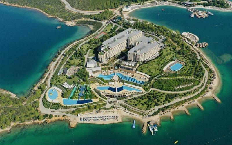هتل La Blanche Island Bodrum