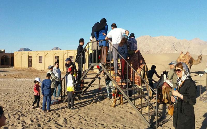اقامتگاه سنتی اکو کمپ شباهنگ یزد