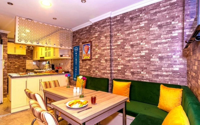 هتل Walnut Shell Hotel Istanbul