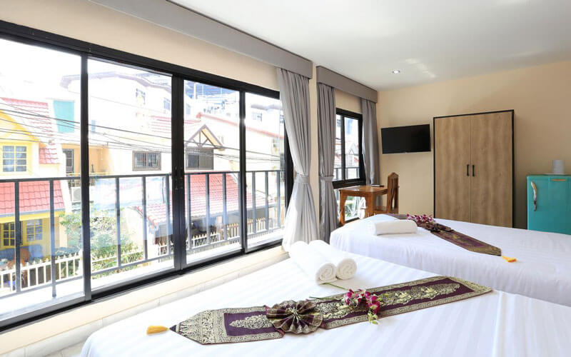 هتل The Siam Guest House Pattaya