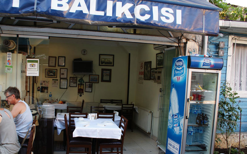 رستوران آهیرکاپی بالیکچی سی استانبول