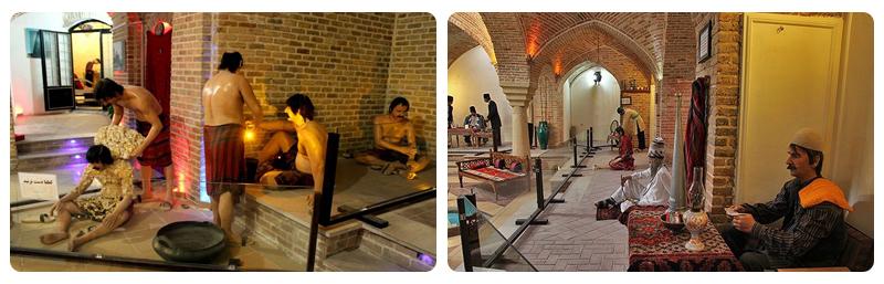 حمام تاریخی قلعه همدان