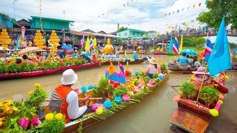 بازارهای شناور تایلند