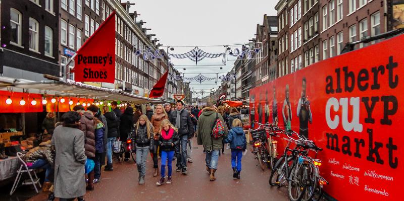 بازار آلبرت کویوپ آمستردام