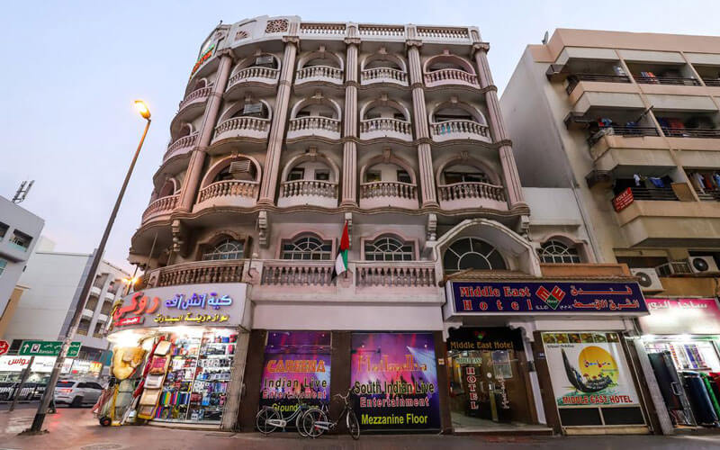 هتل میدل ایست دبی