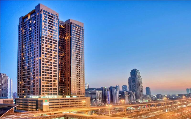 هتل آپارتمان مرکور بارشا هایتس دبی