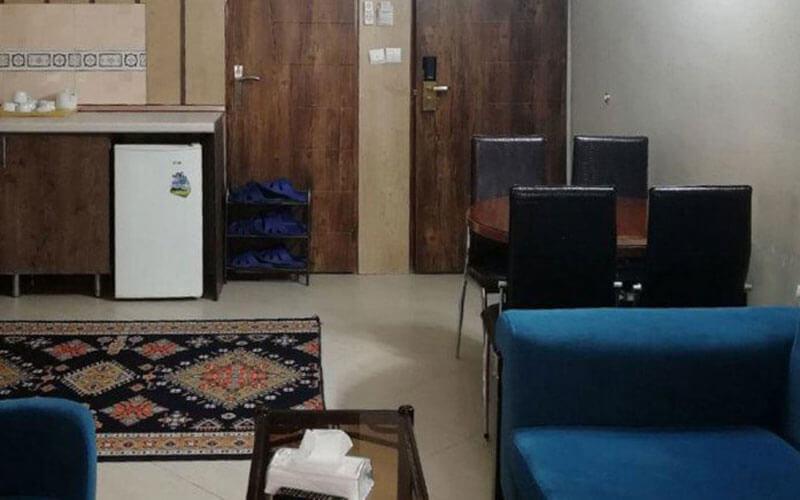 هتل آپارتمان معین درباری مشهد