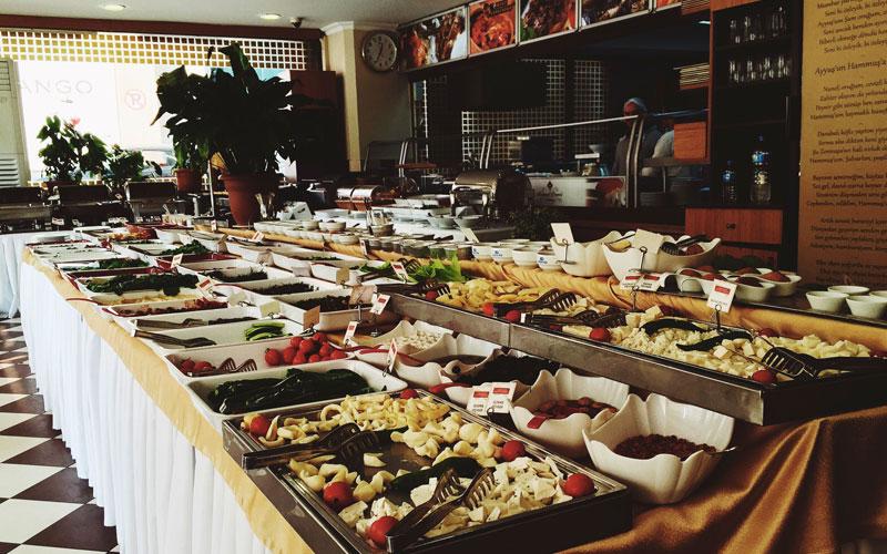 رستوران آکدنیز حاتای سوفراسی استانبول