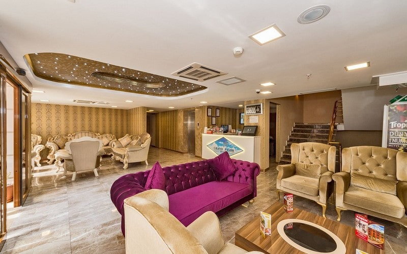 هتل Grand Pamir Istanbul