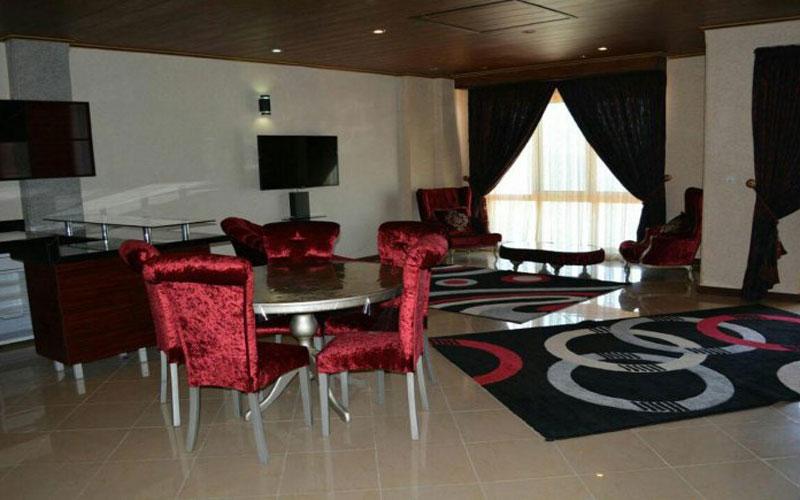 هتل الماس عباس آباد رامسر
