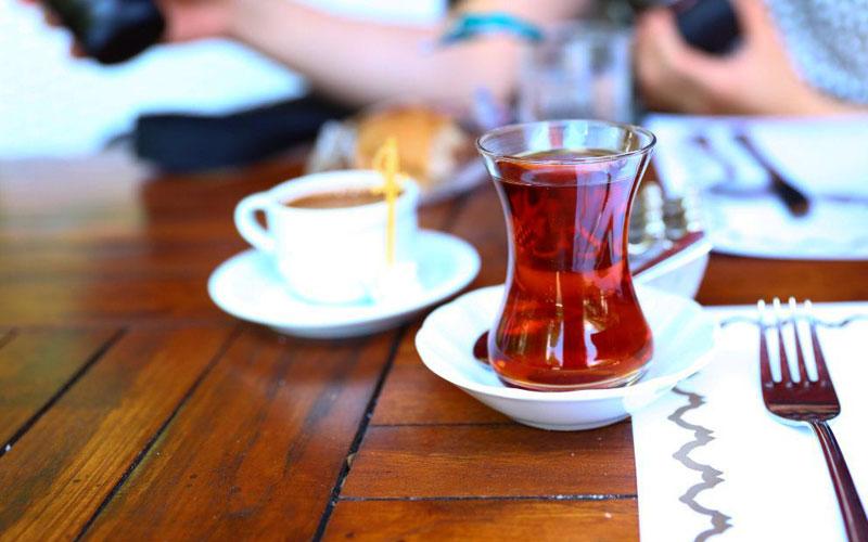 کافه گولحانه کاندیل تسیسلری استانبول