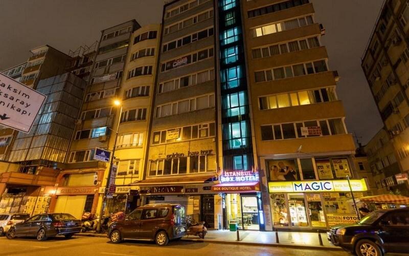 هتل Box Boutique Hotel Istanbul