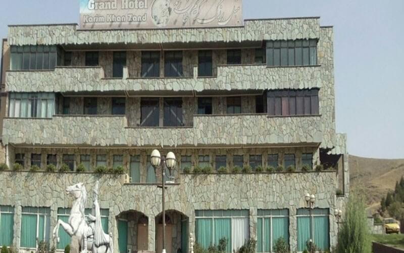 هتل کریم خان زند ملایر