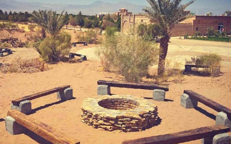 اقامتگاه بوم گردی خانه مازیار کویر مصر (آتشونی) خور