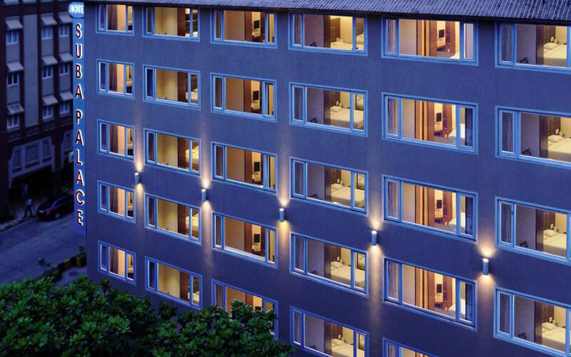 هتل سوبا پالاس بمبئی