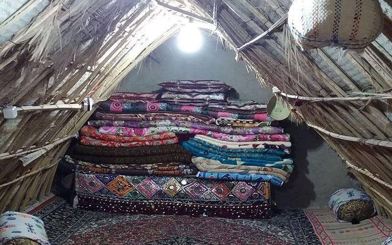 اقامتگاه سنتی بومگردی خاله زبیده ایرانشهر