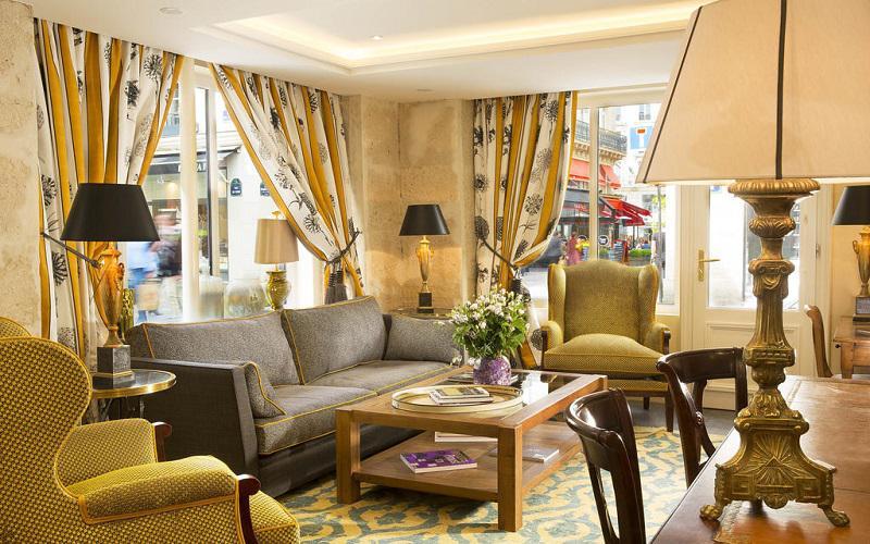 هتل لی رلایس دس هالس پاریس