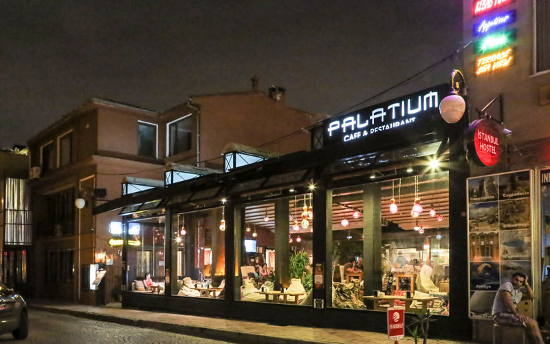 کافه رستوران پالاتیوم استانبول