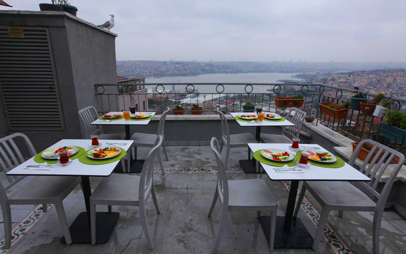 هتل تقسیم تراس استانبول