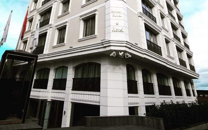 هتل Taba Luxury Suites & Hotel Istanbul
