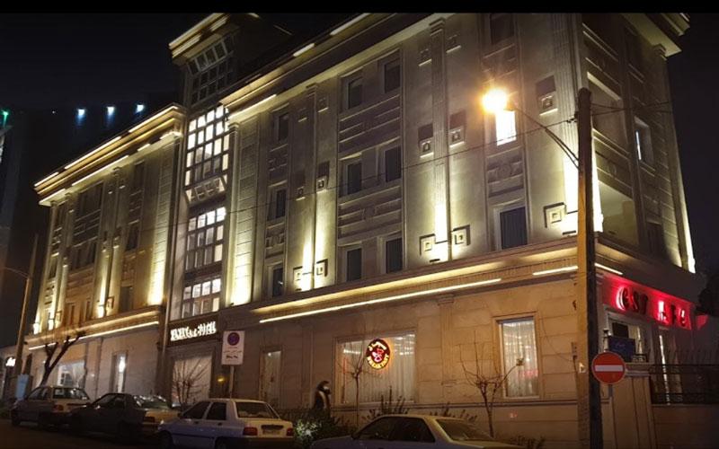 هتل آپارتمان ونک تهران