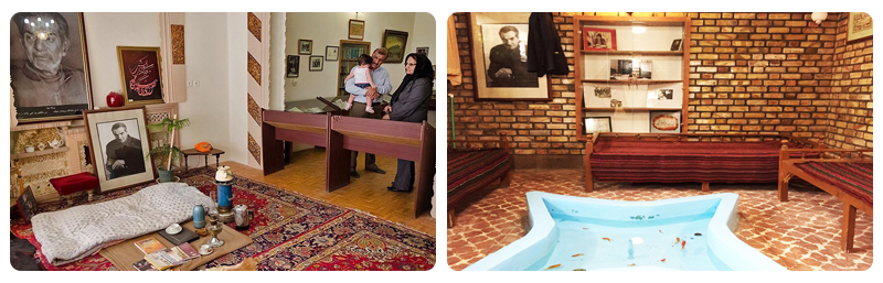 خانه استاد شهریار تبریز