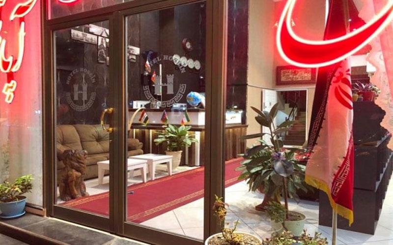 هتل آپارتمان حسین اردبیل