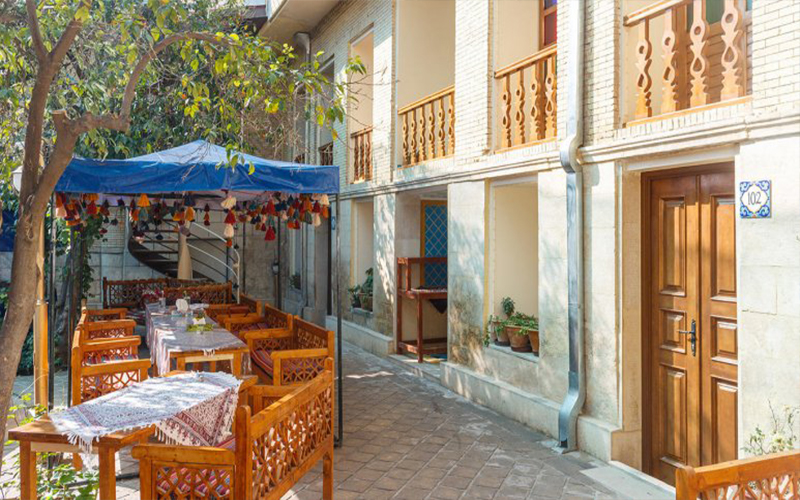 اقامتگاه سنتی پنج دری شیراز