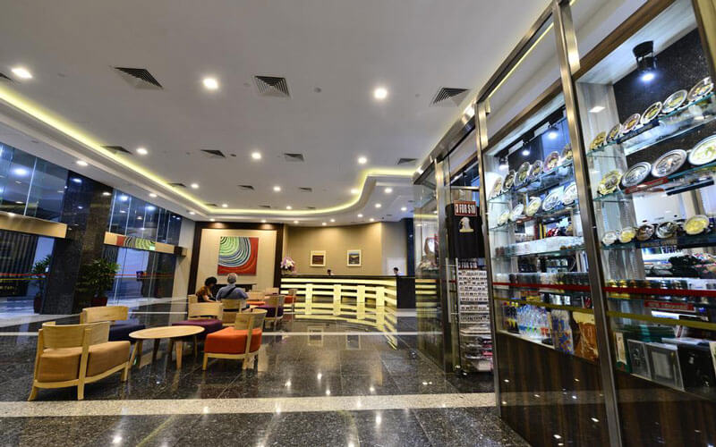 هتل چنسلر ات اورکارد سنگاپور