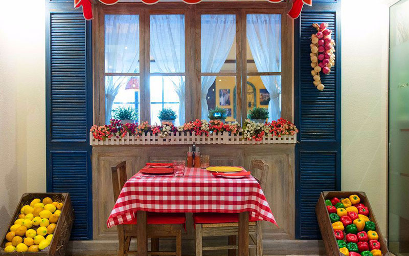 رستوران ریکتا دبی
