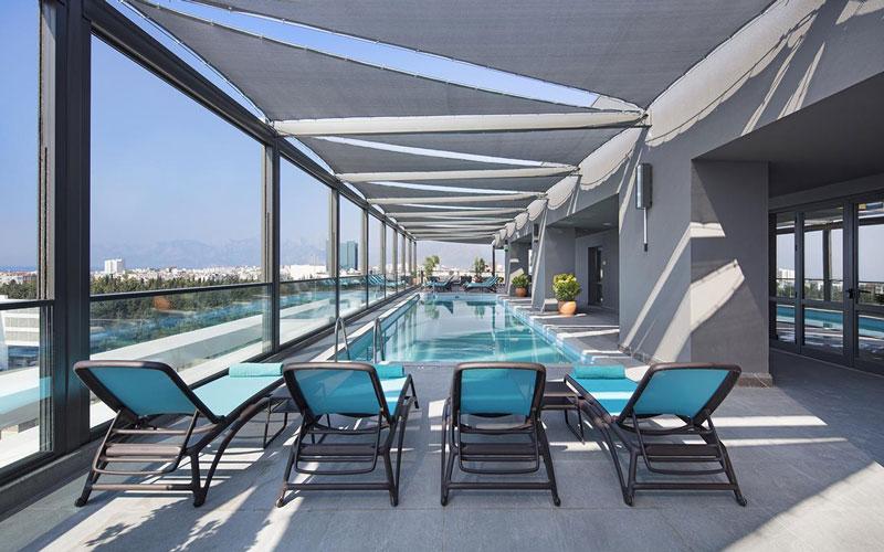 هتل Doubletree By Hilton City Centre Antalya