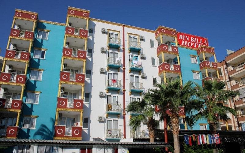 هتل BIN BILLA HOTEL ALANYA