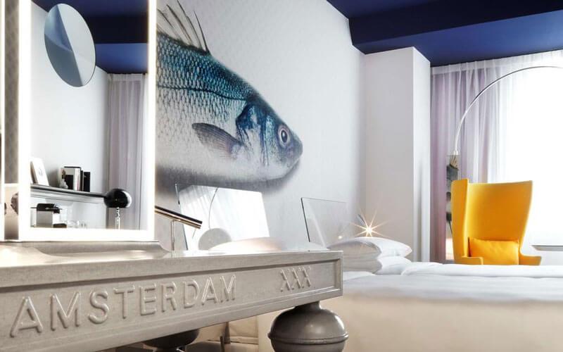 هتل انداز پرینسنگراچت آمستردام