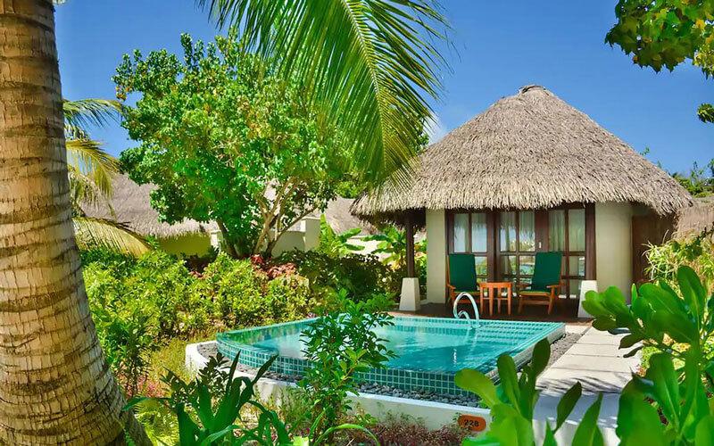 هتل Sheraton Full Moon Resort and Spa Maldives