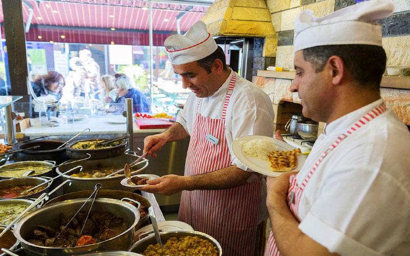 رستوران دونرچی شاهین اوستا استانبول