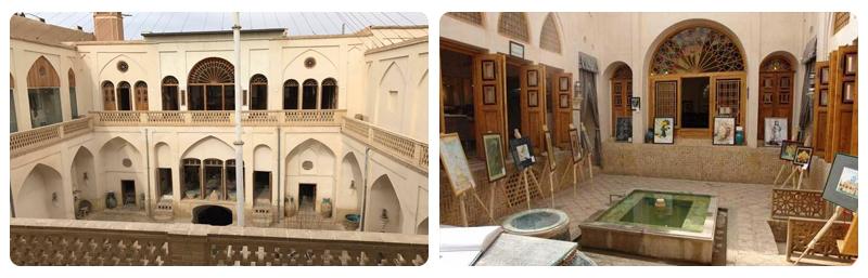 خانه تاریخی تاج کاشان