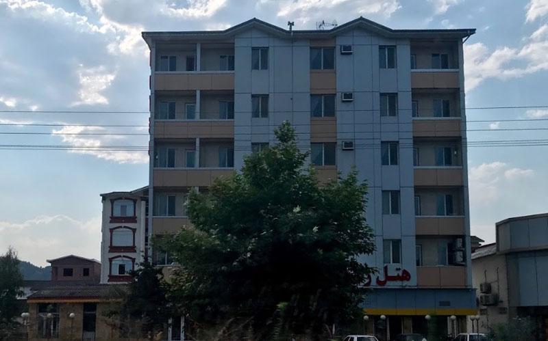 هتل آپارتمان ایساتیس آستارا