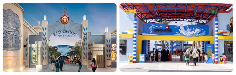 شهربازی بالیوود پارک دبی