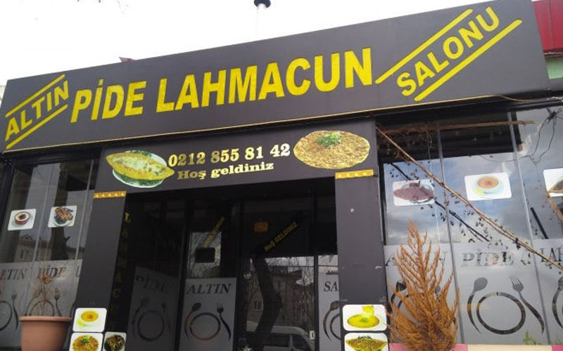 رستوران آلتین پیده و لاهمعجون استانبول