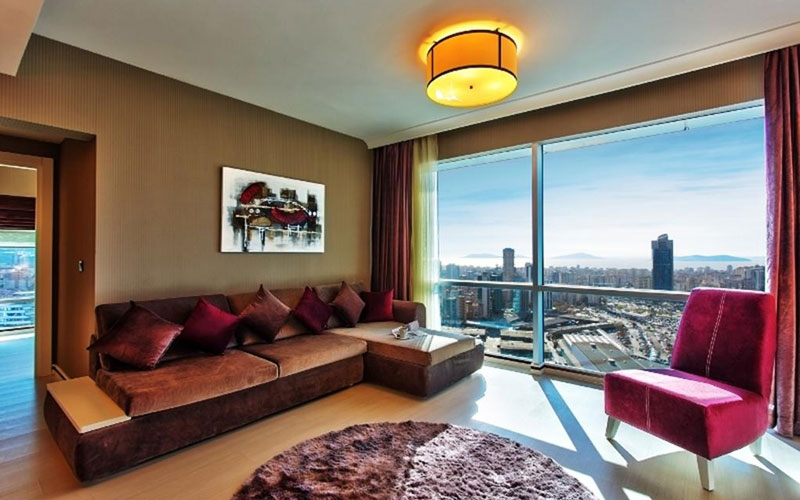 هتل فلورا سوئیتس آتاشهیر استانبول