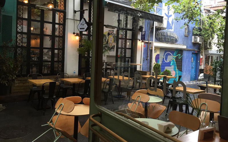 کافه بیکری داندین استانبول
